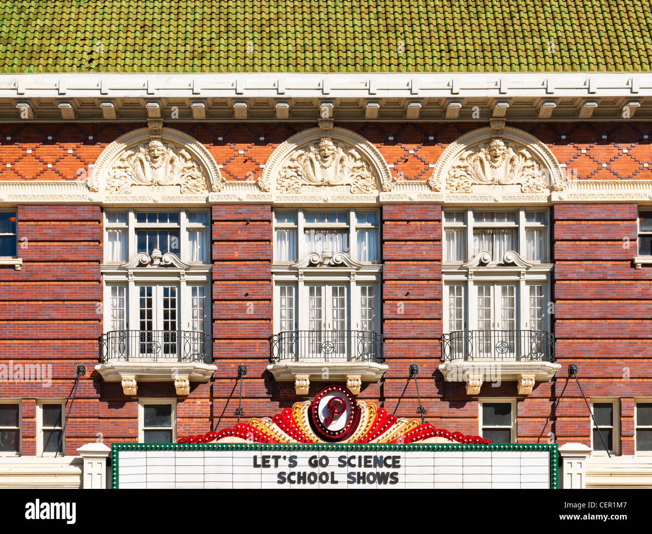 Paramount Theatre, Austin, TX - Stock Image