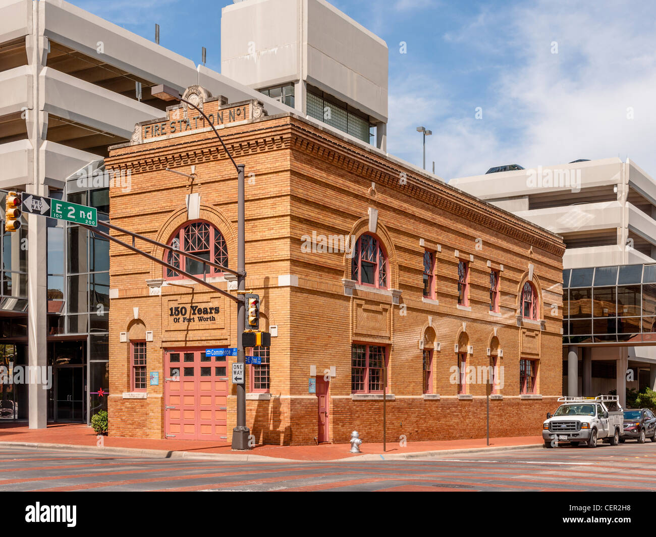 Fire Station No. 1, Fort Worth - Stock Image