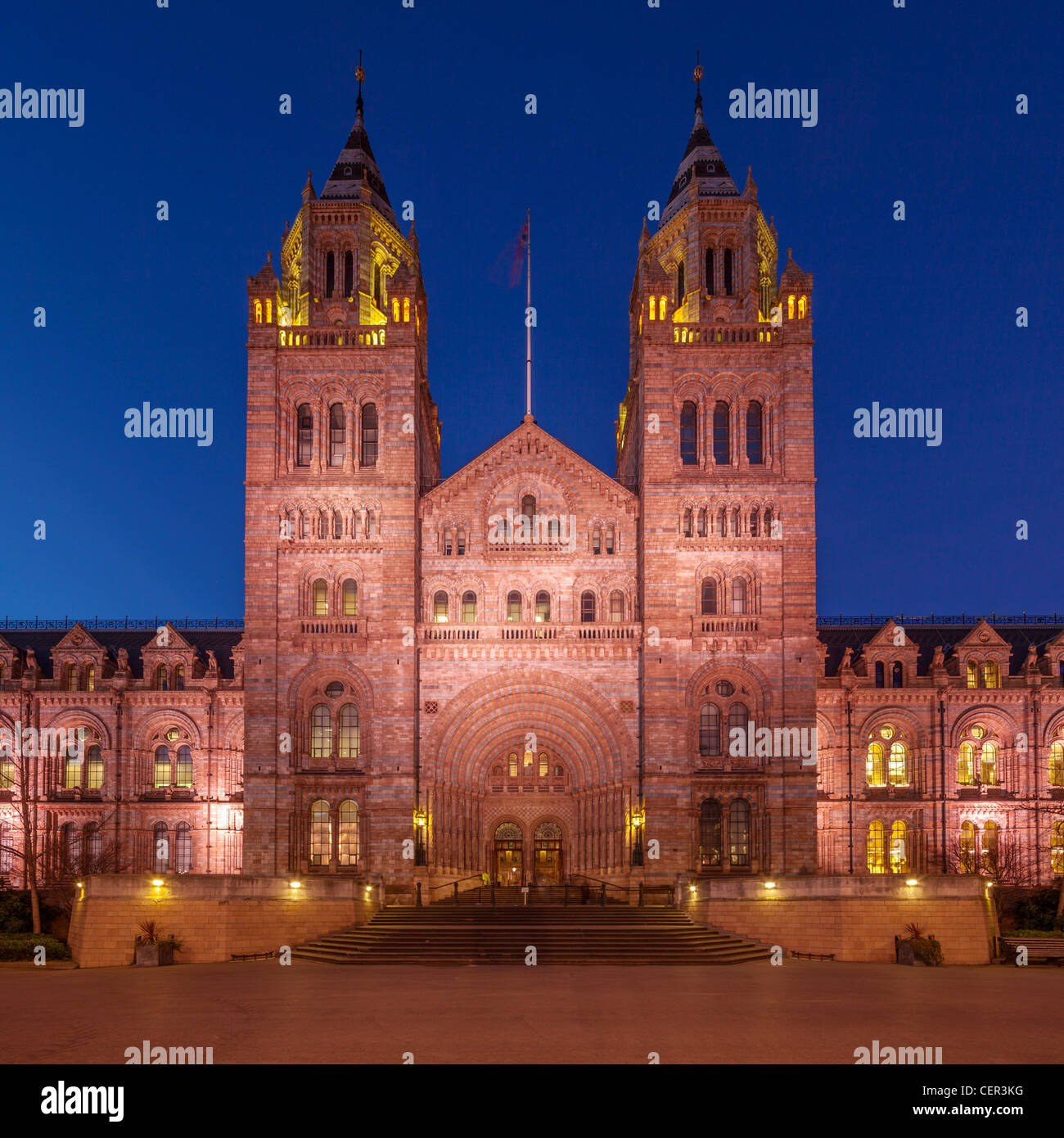 Natural History Museum, London - Stock Image