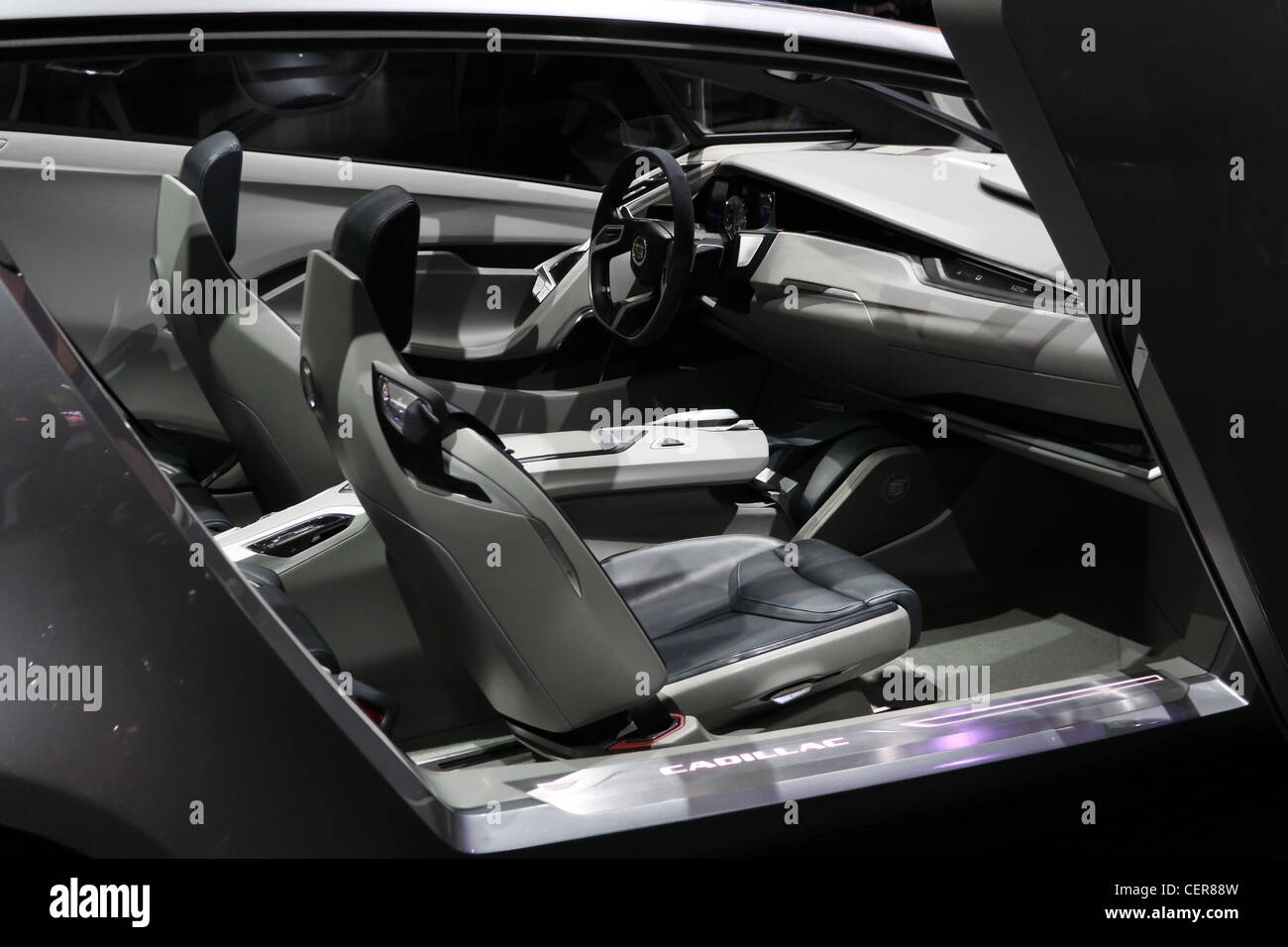 Cadillac Urban Luxury Concept Car Interior Stock Photo 43537337 Alamy
