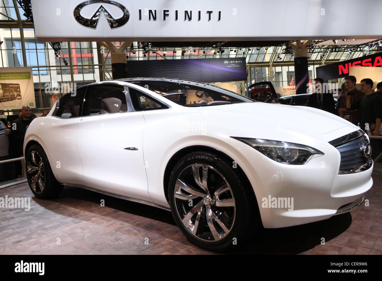 Concept Electric Car Infiniti Etherea Stock Photo 43538578 Alamy