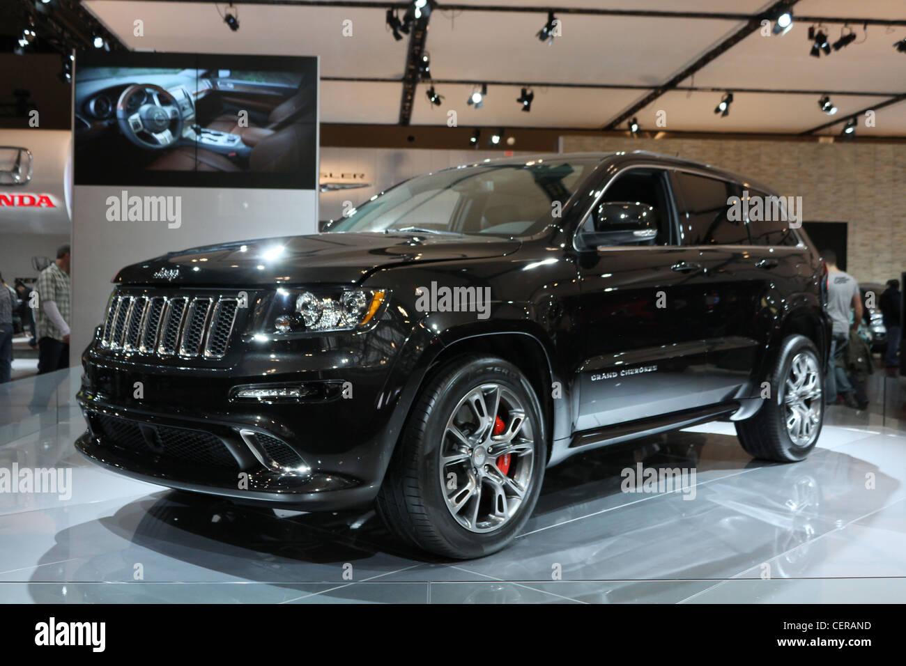 Black Jeep Suv Car Stock Photo Alamy