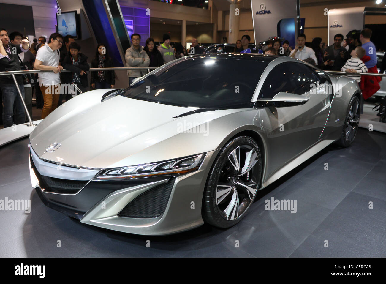 Acura Nsx Concept Stock Photos Images Alamy Advanced Sports Car Luxury Expensive Image