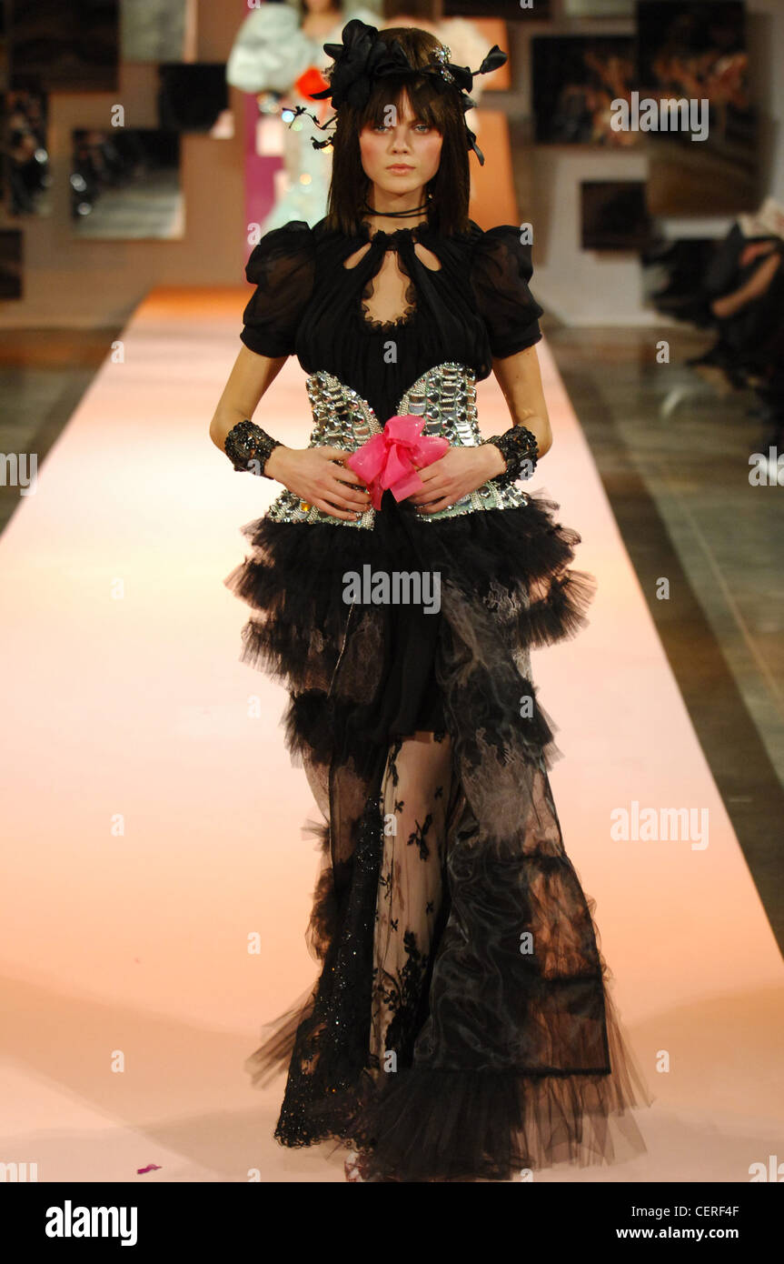 Christian Lacroix Paris Haute Couture Stock Photos ...