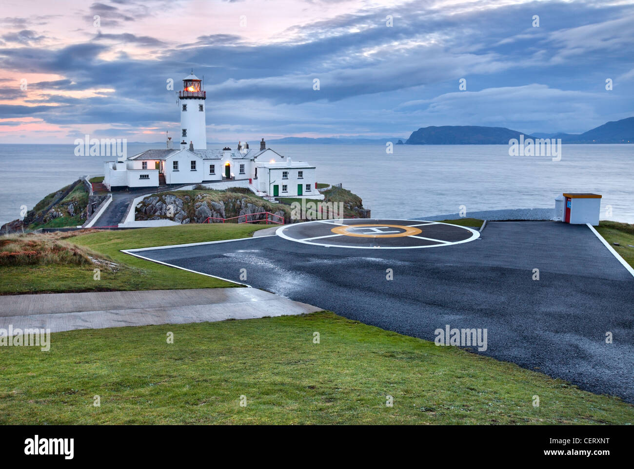 Fanad head Lighthouse, Donegal Ireland. - Stock Image