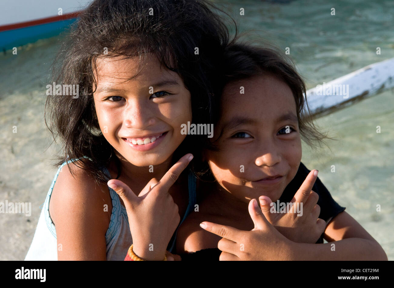 Philippines girls smiling stock photos philippines girls smiling cute filipino girls in cebu stock image altavistaventures Image collections