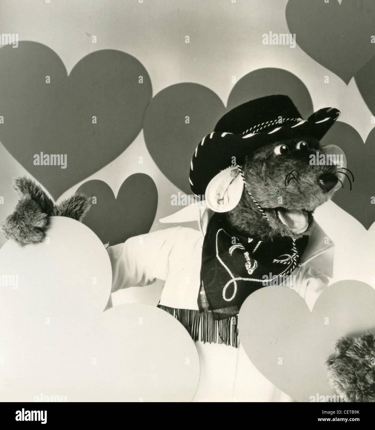 ROLAND RAT  Promotional photo of UK TV puppet character - Stock Image