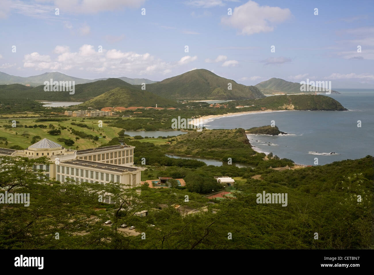 Venezuela Margarita island north coast - Stock Image