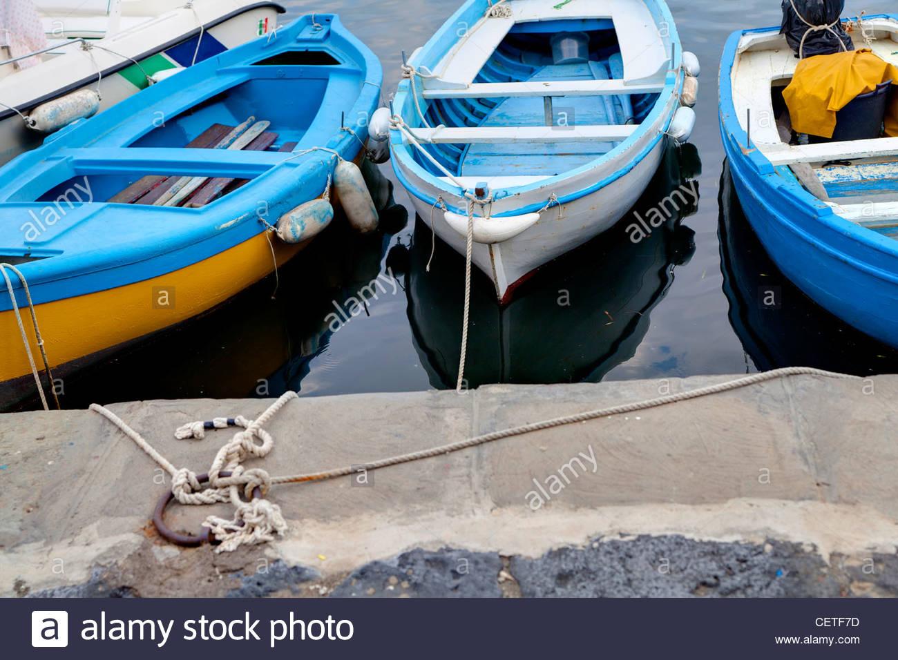 Marina boats - Stock Image