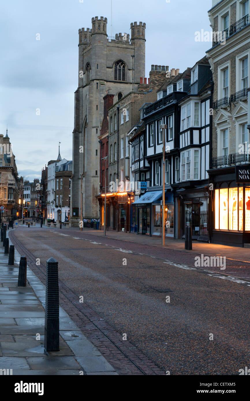Cambridge Kings Parade Street, England UK - Stock Image