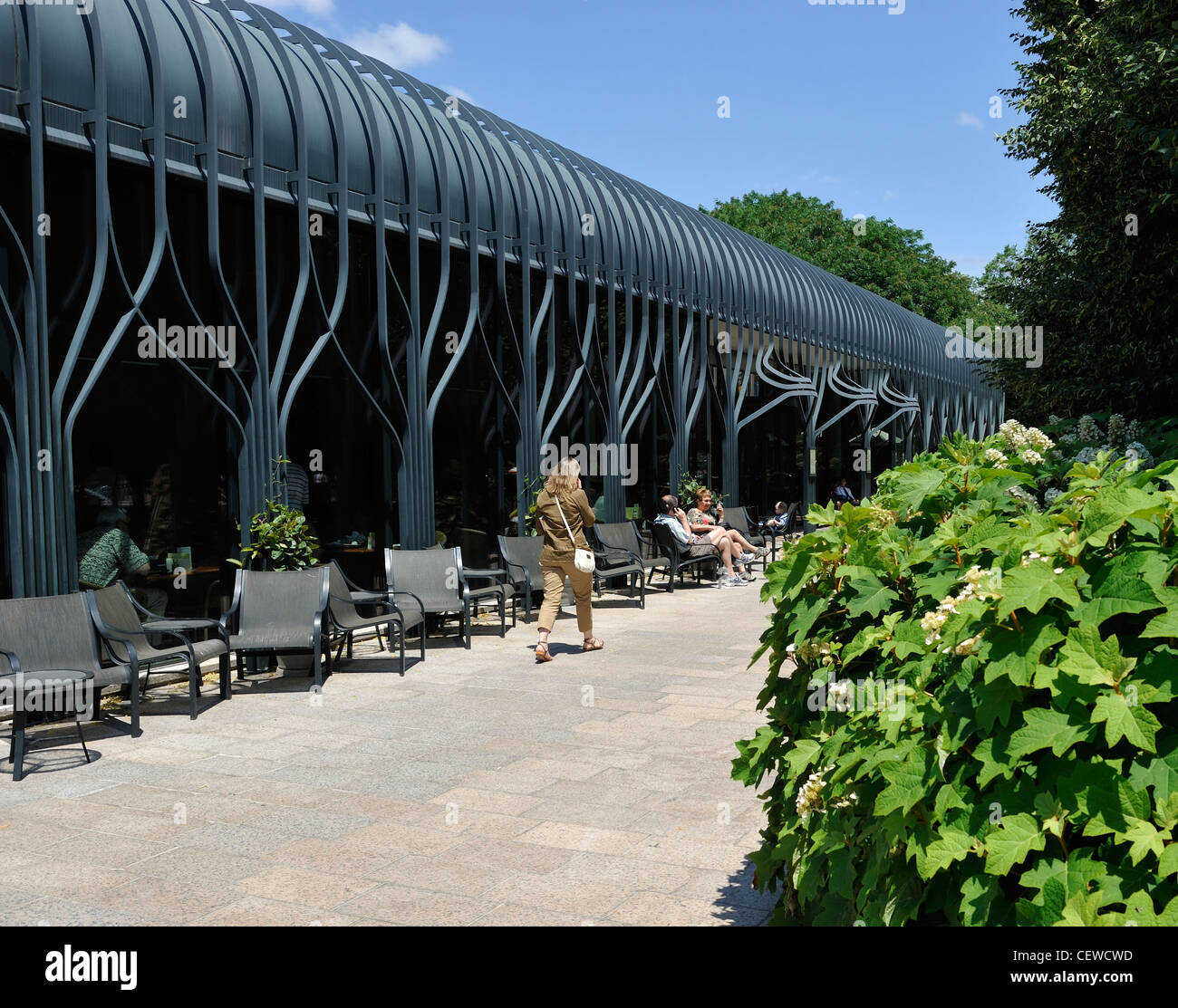 The Garden Cafe At The National Gallery Of Art