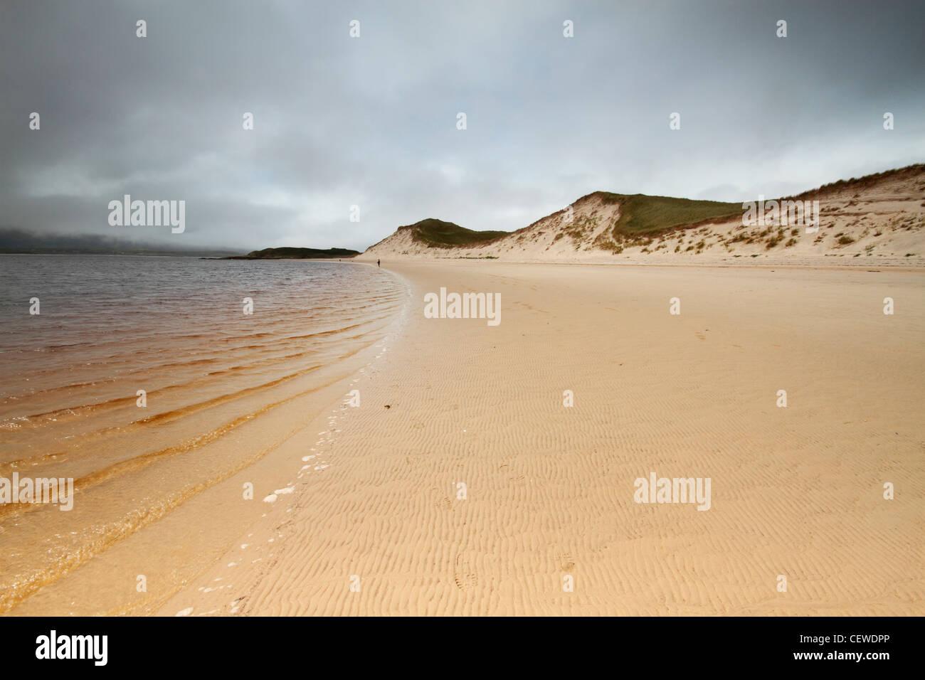 Ballinreavy Strand on Loughros More Bay, Ireland - Stock Image