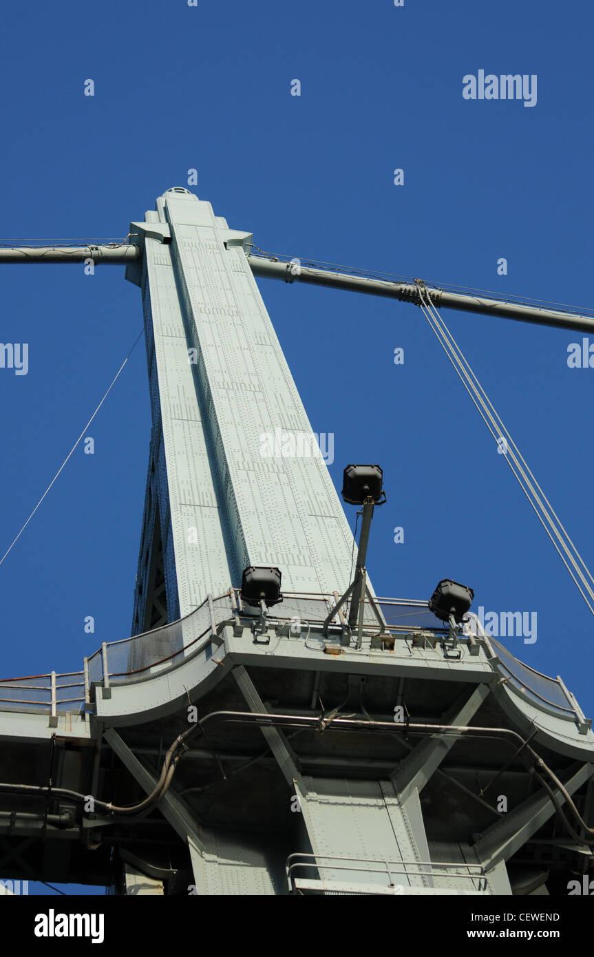 The Robert F. Kennedy (RFK) Bridge, Also known as the Triborough Bridge - Stock Image
