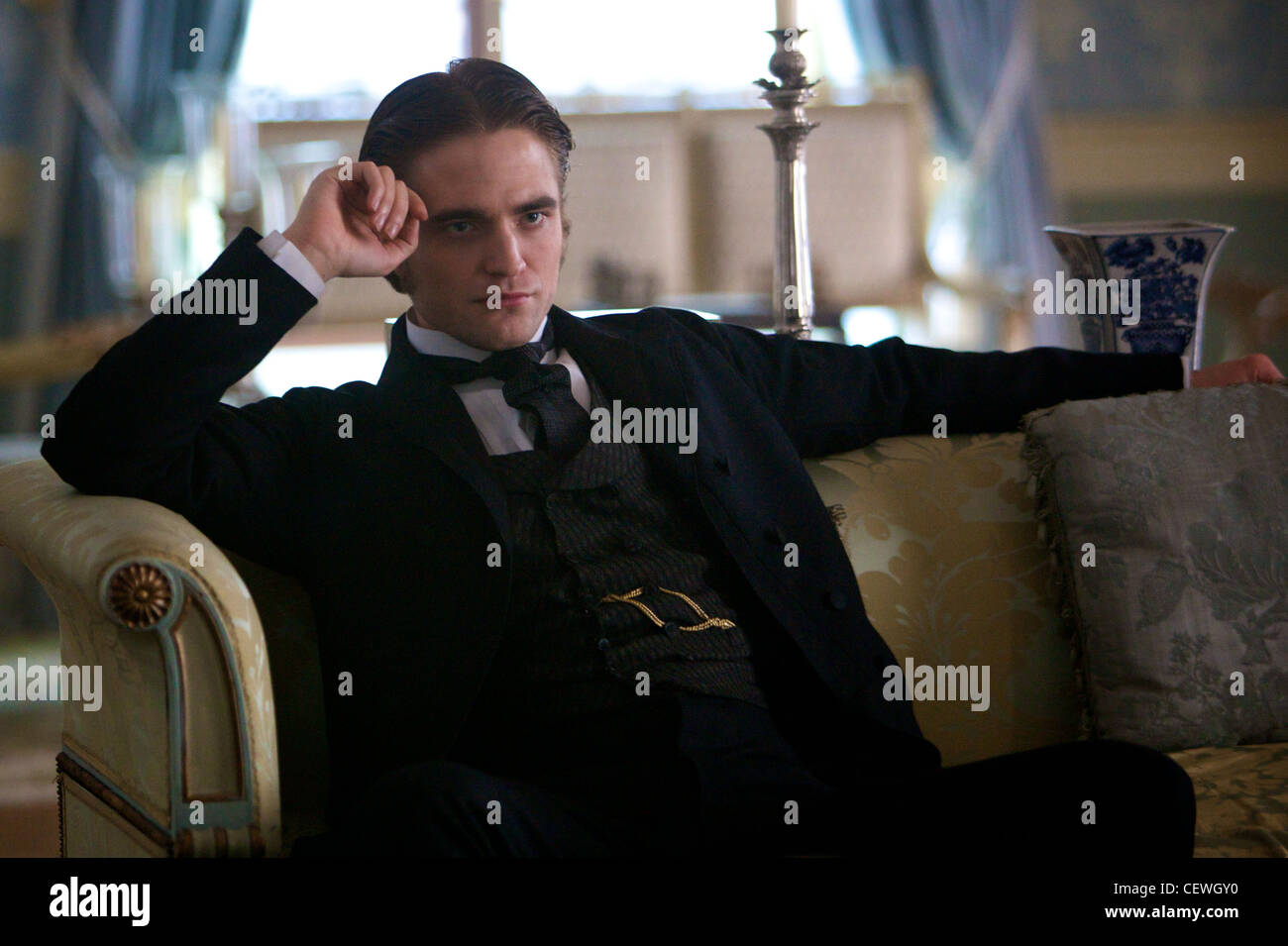 BEL AMI Robert Pattinson, Christina Ricci and Uma Thurman Stock Photo