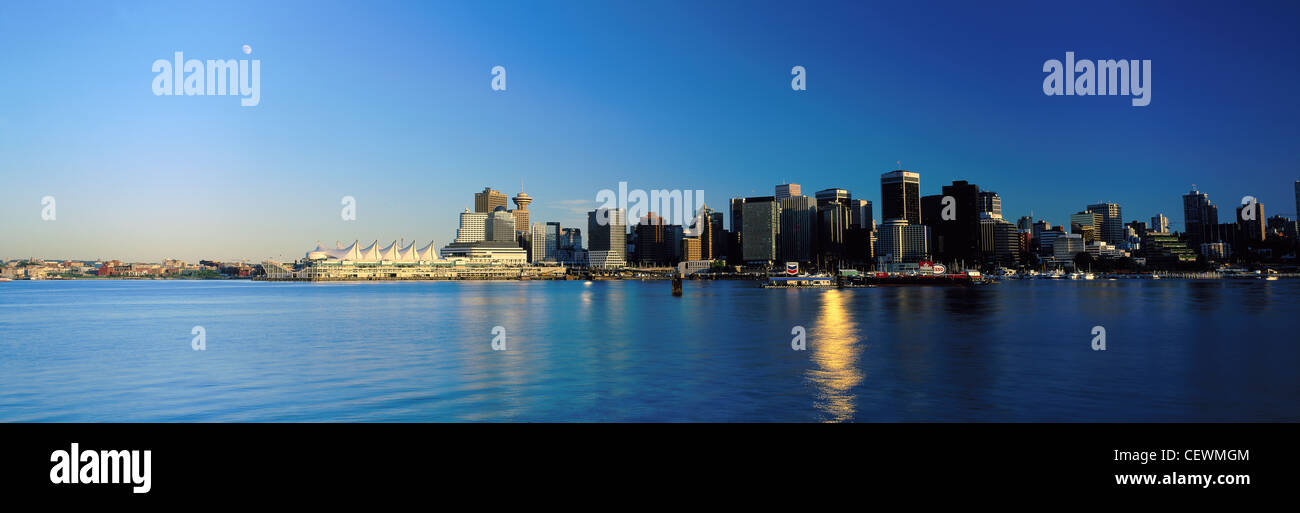 Vancouver from Stanley Park, British Columbia, Canada - Stock Image