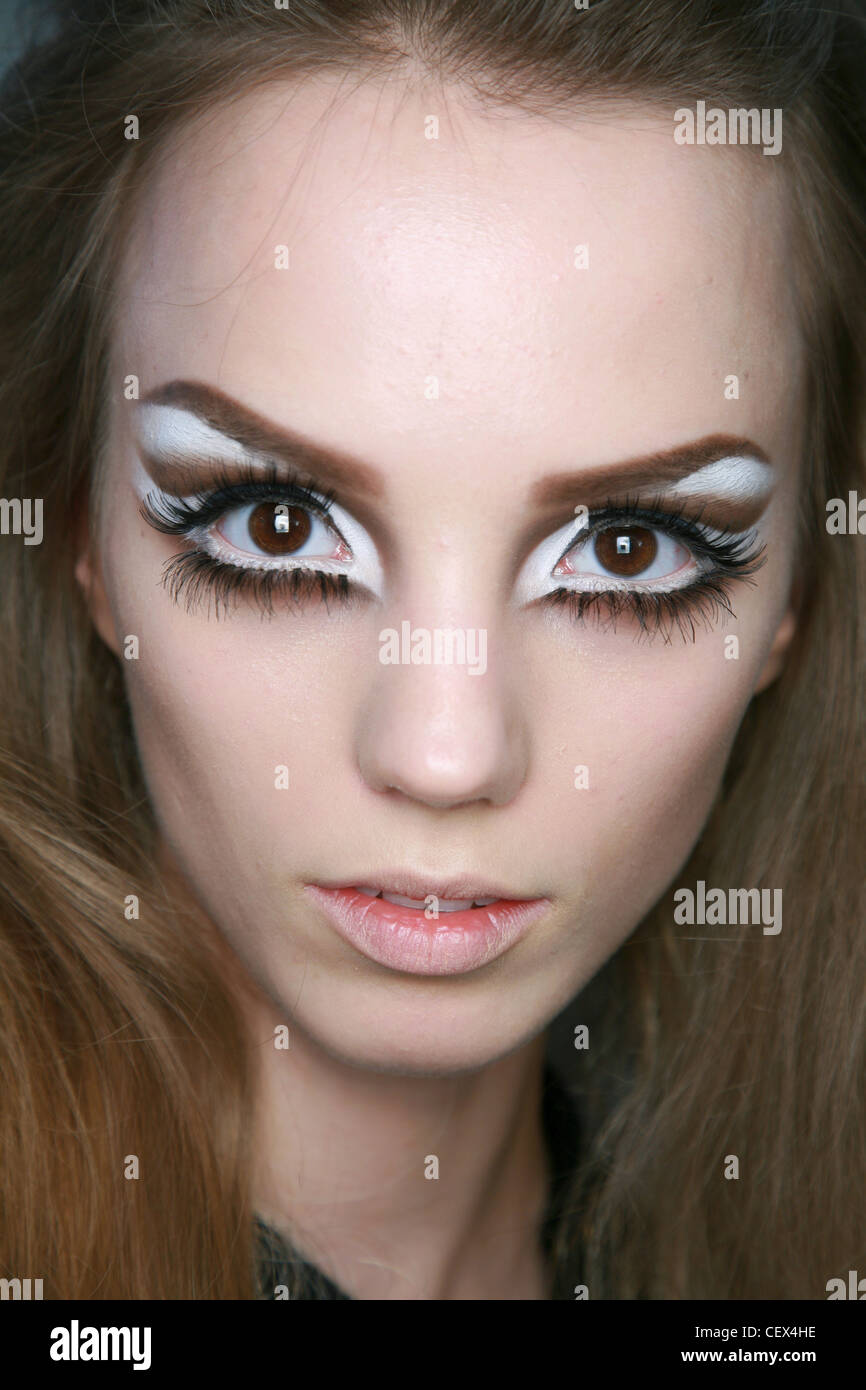 Pencilled In Eyebrows Stock Photos Pencilled In Eyebrows Stock