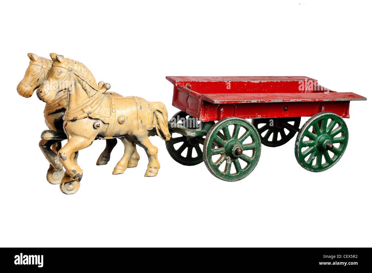 Horse Pulling Cart Children Stock Photos & Horse Pulling Cart ...