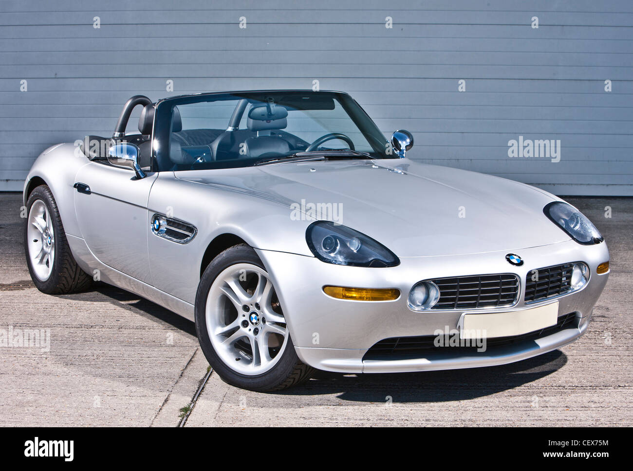 Bmw Z8 James Bond Convertible Sports Car Stock Photo