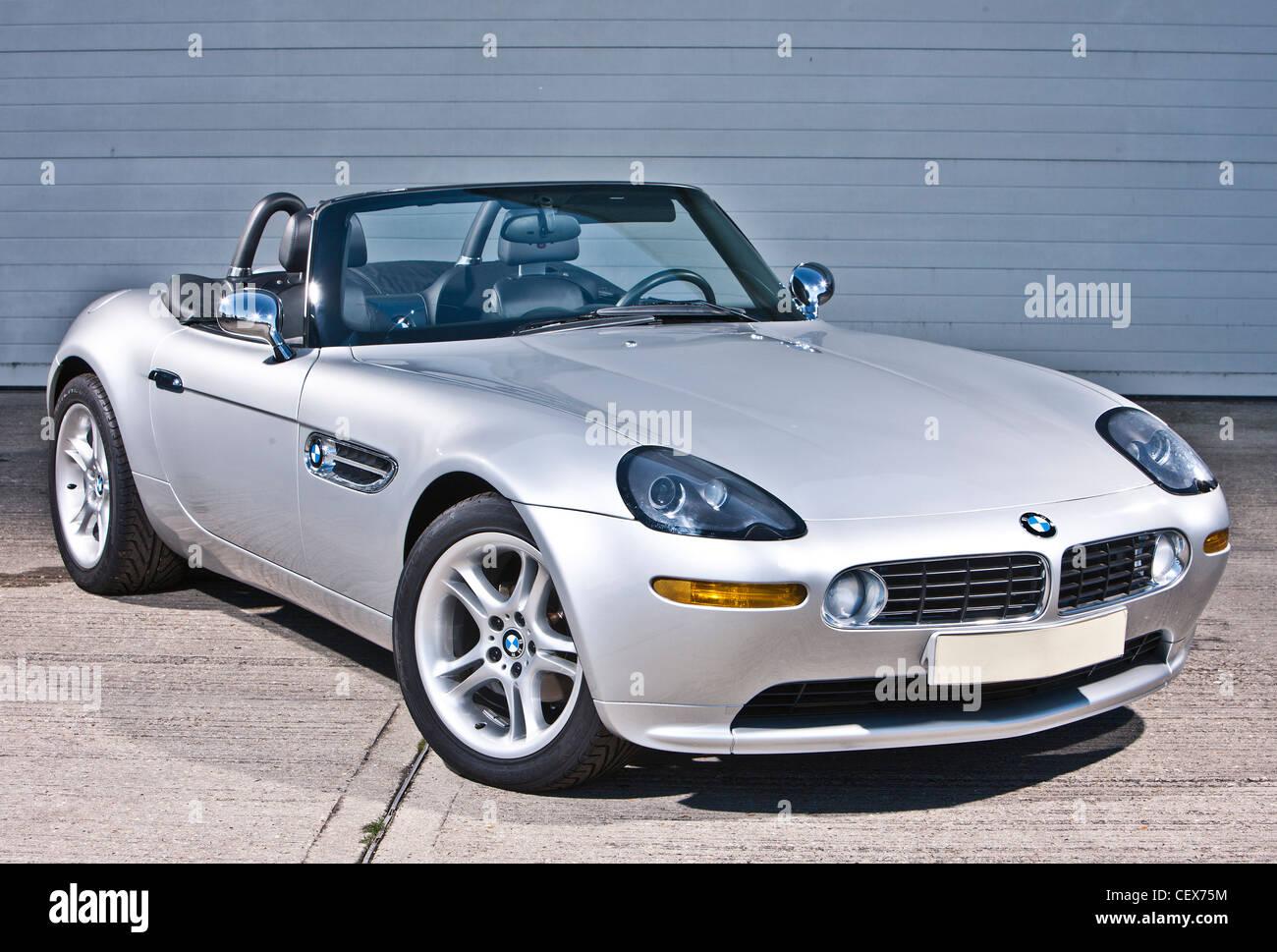 BMW Z8, James Bond convertible sports car Stock Photo ...