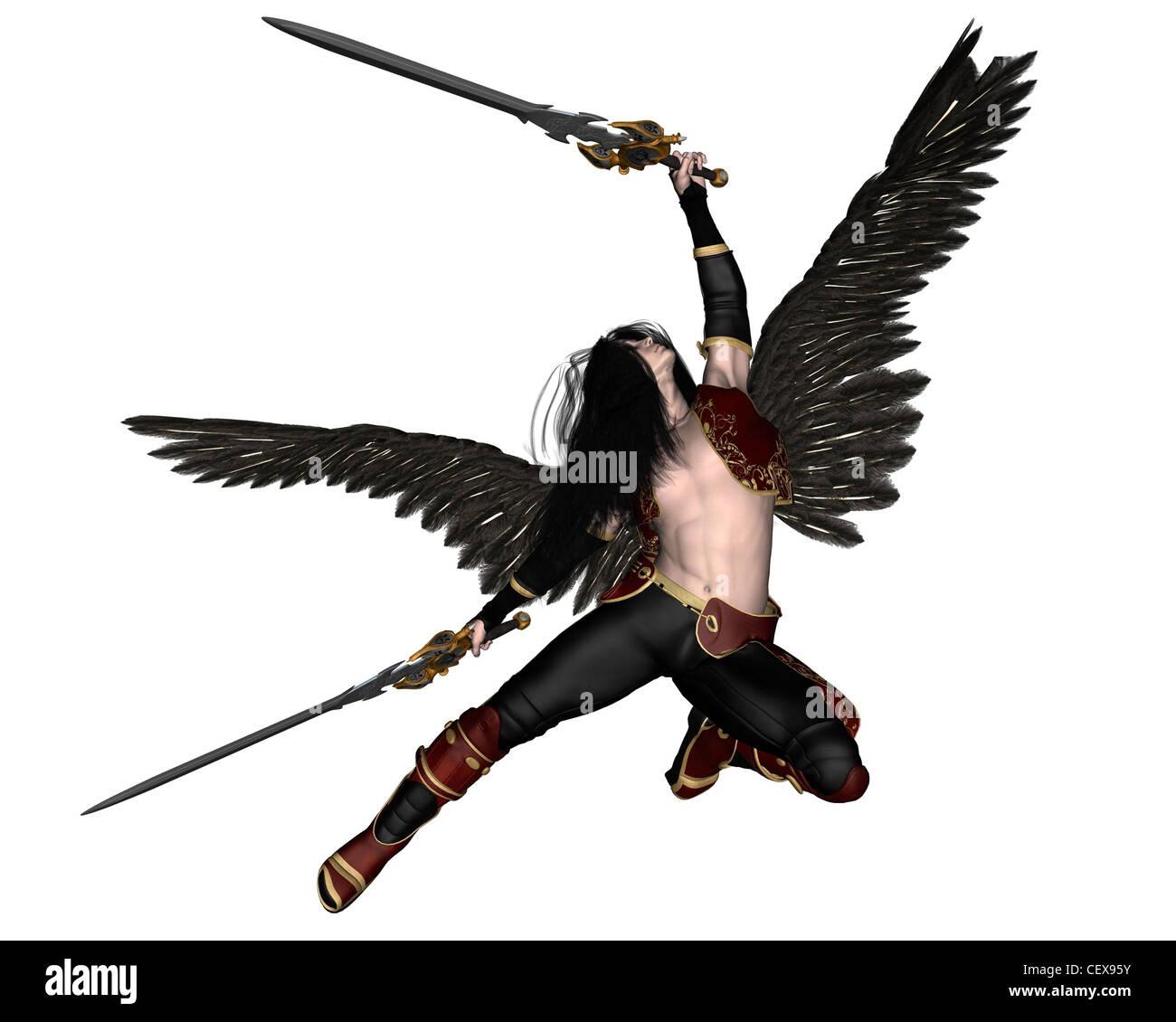 Fallen angel iii leather