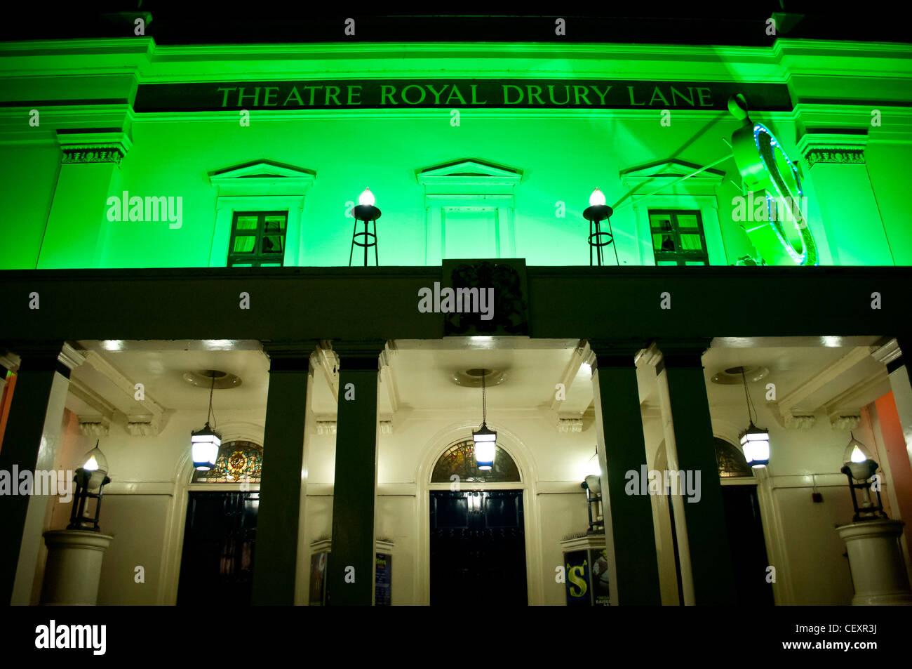 Theatre Royal Drury Lane, Covent Garden, , London, UK - Stock Image