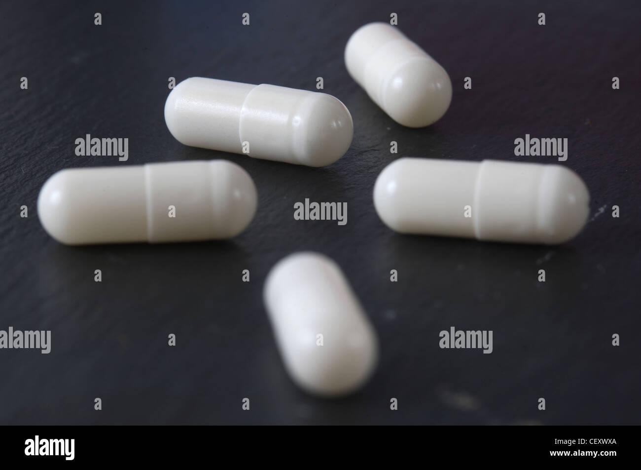 Appetite suppressant tablets - Stock Image