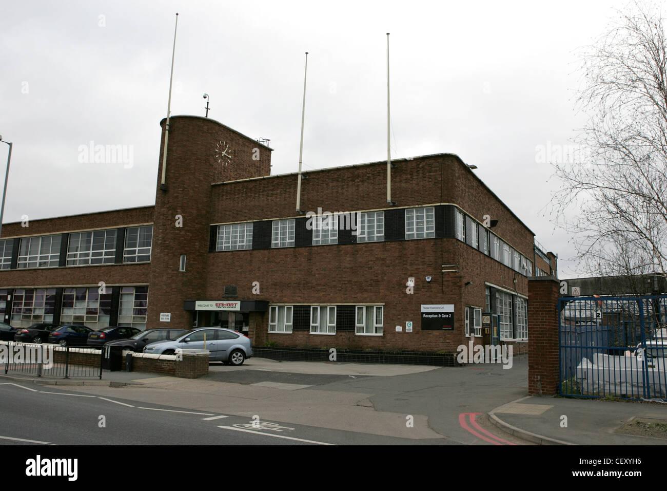 emhart technologies, tucker fasteners factory, birmingham feb 2012 Stock Photo