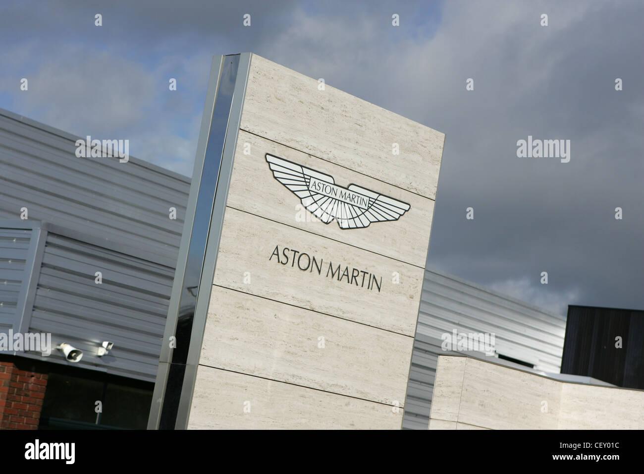 aston martin cars dealership, cheltenham uk - Stock Image