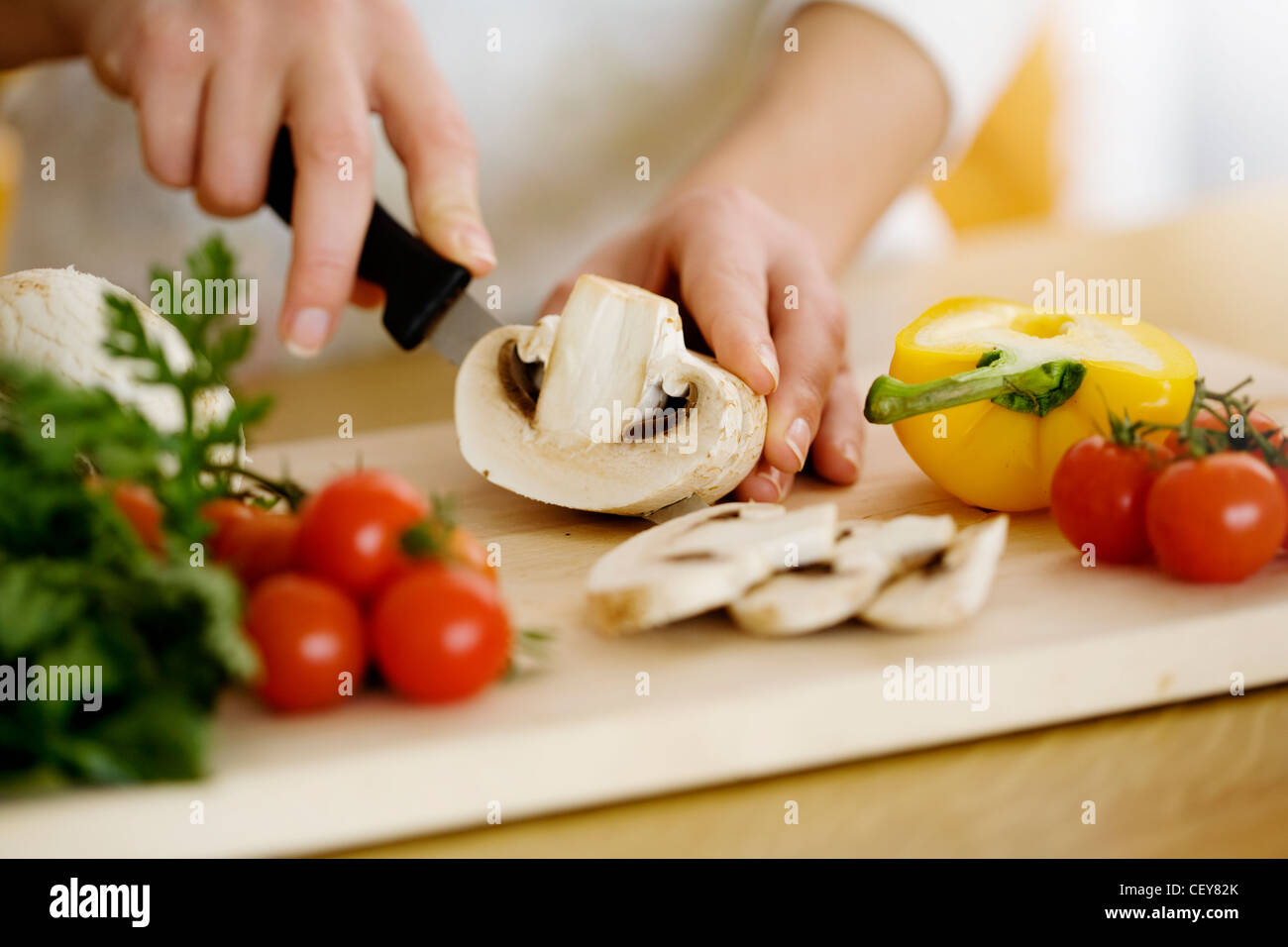 cooking - Stock Image
