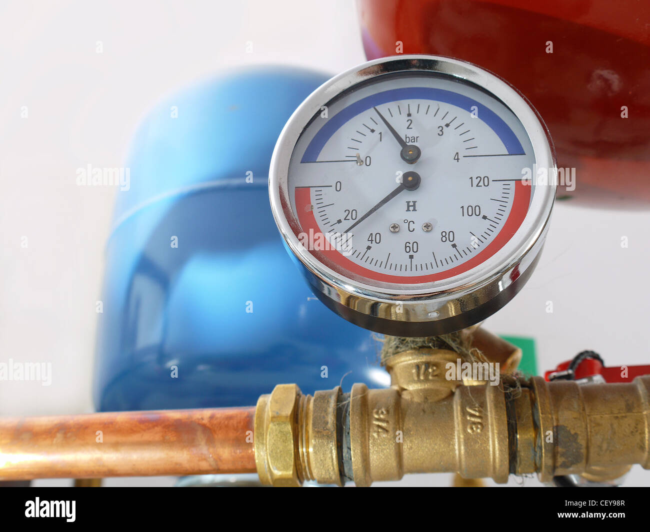 Boiler Pressure Stock Photos & Boiler Pressure Stock Images - Alamy