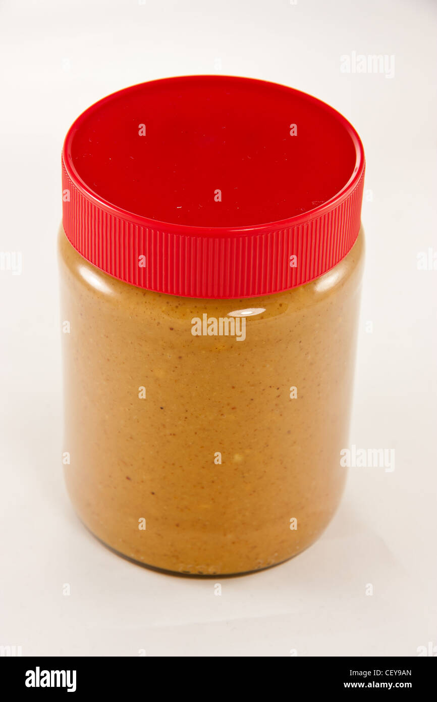 how to clean peanut butter jar