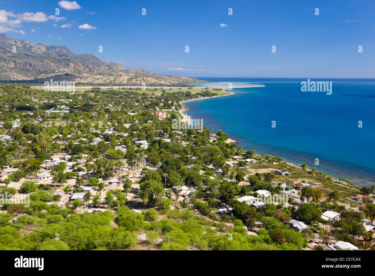 The town of Manatuto, Timor-Leste (East Timor), Asia - Stock Image