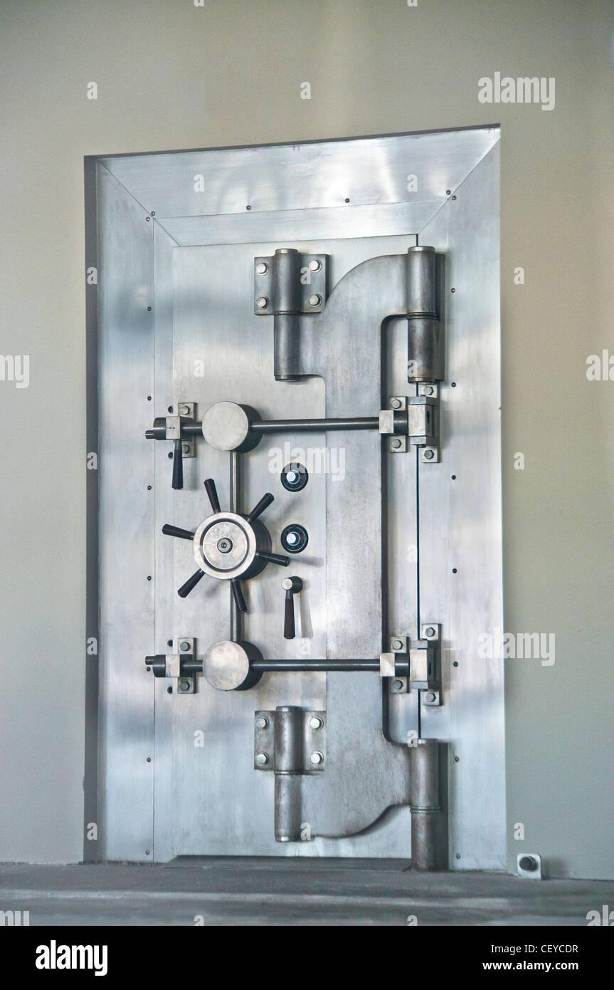 safe secure security vault bank - Stock Image