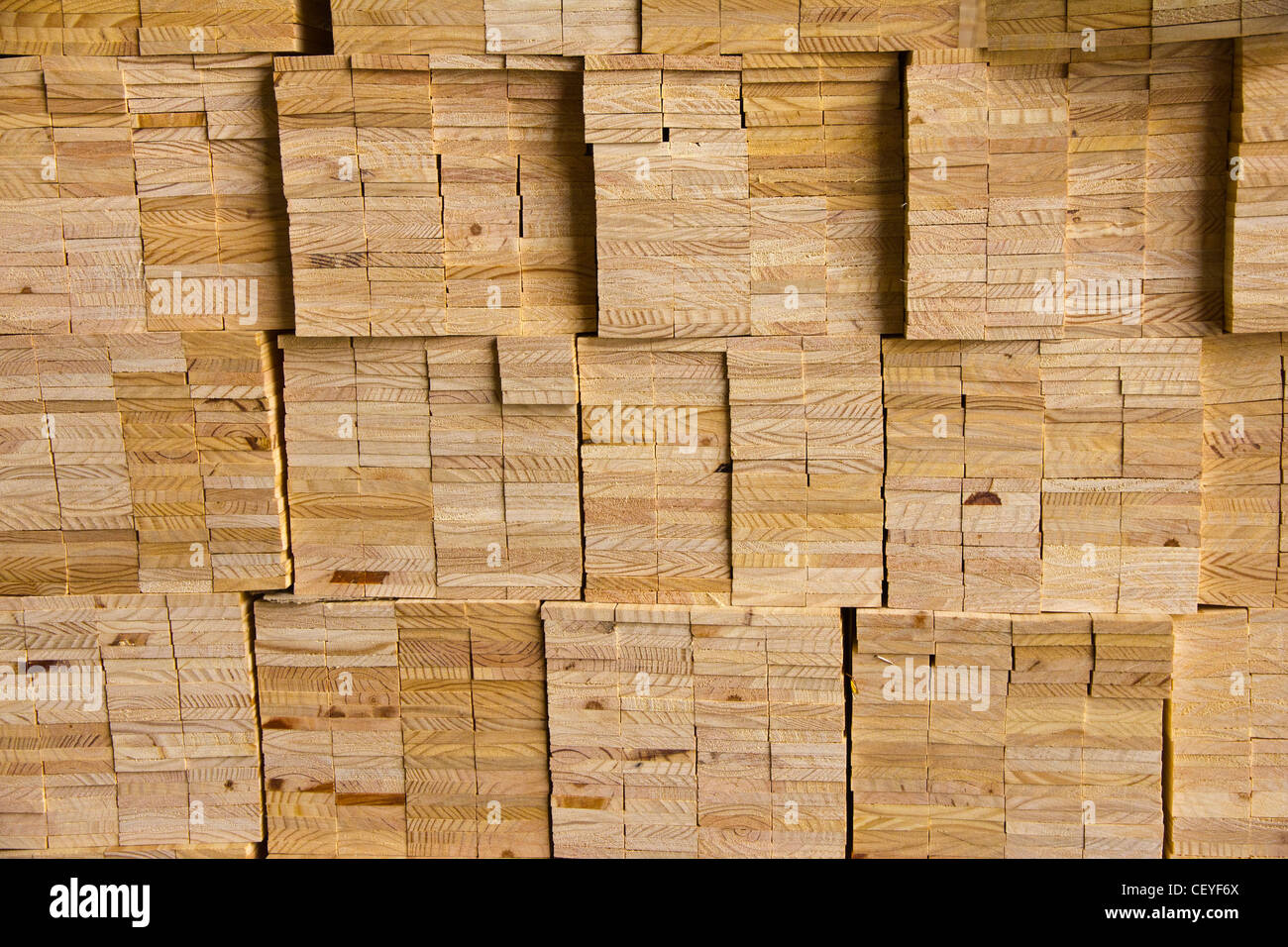 PLANKS OF WOOD - Stock Image