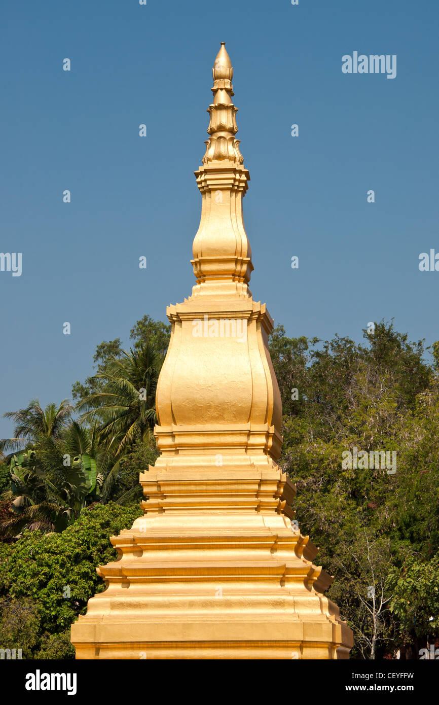 Laotian Stupa - Stock Image