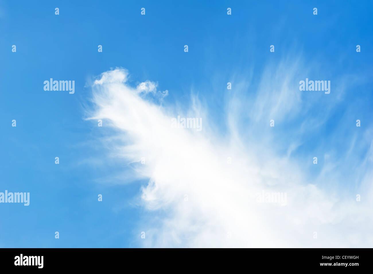 Wispy cloud - Stock Image