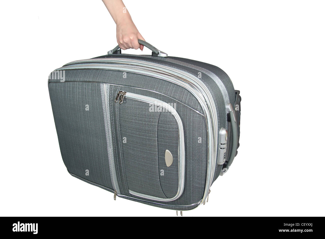 travel suitcase bag - Stock Image