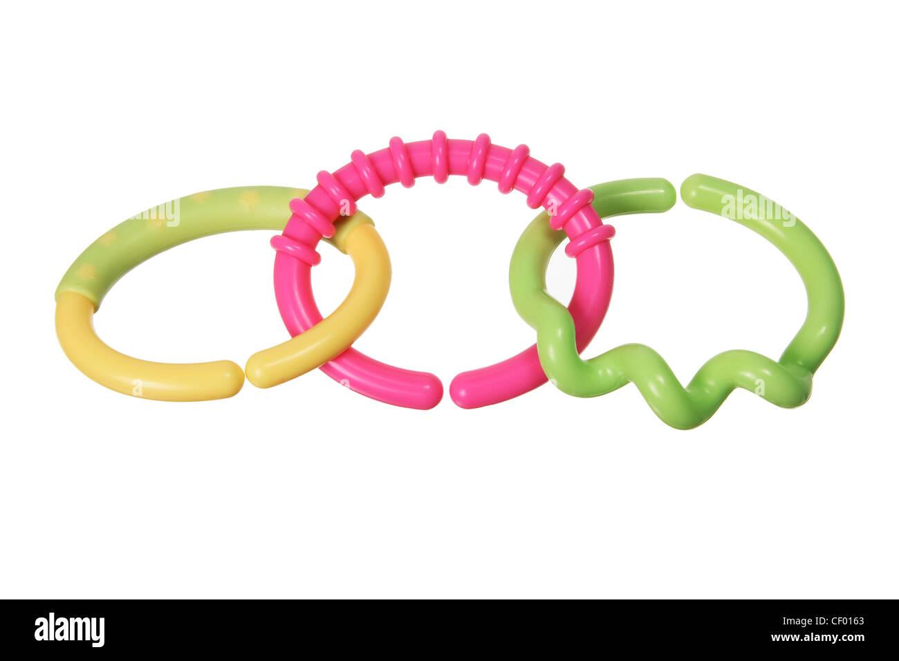 Teething Rings - Stock Image