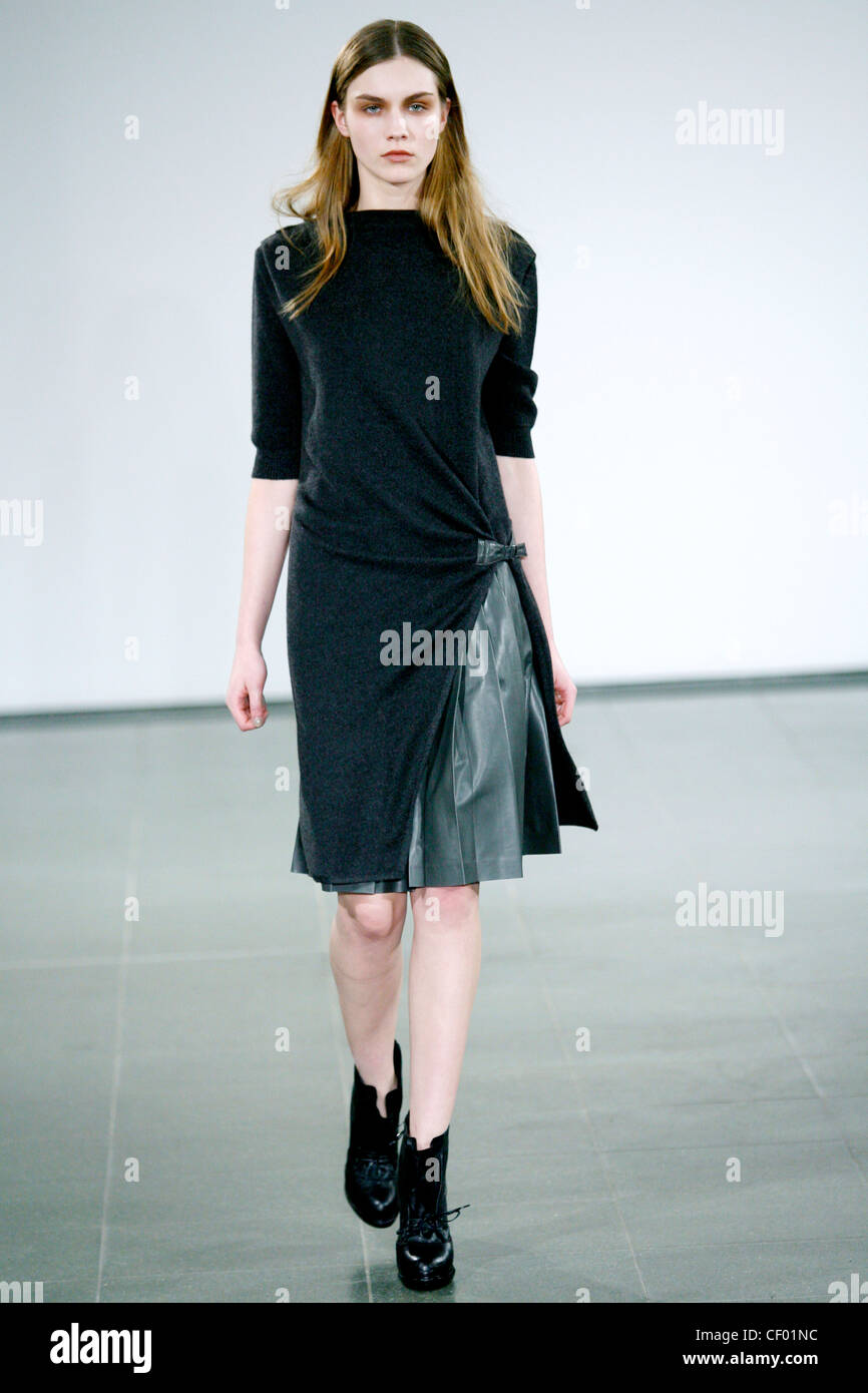 knee length dress and ankle boots
