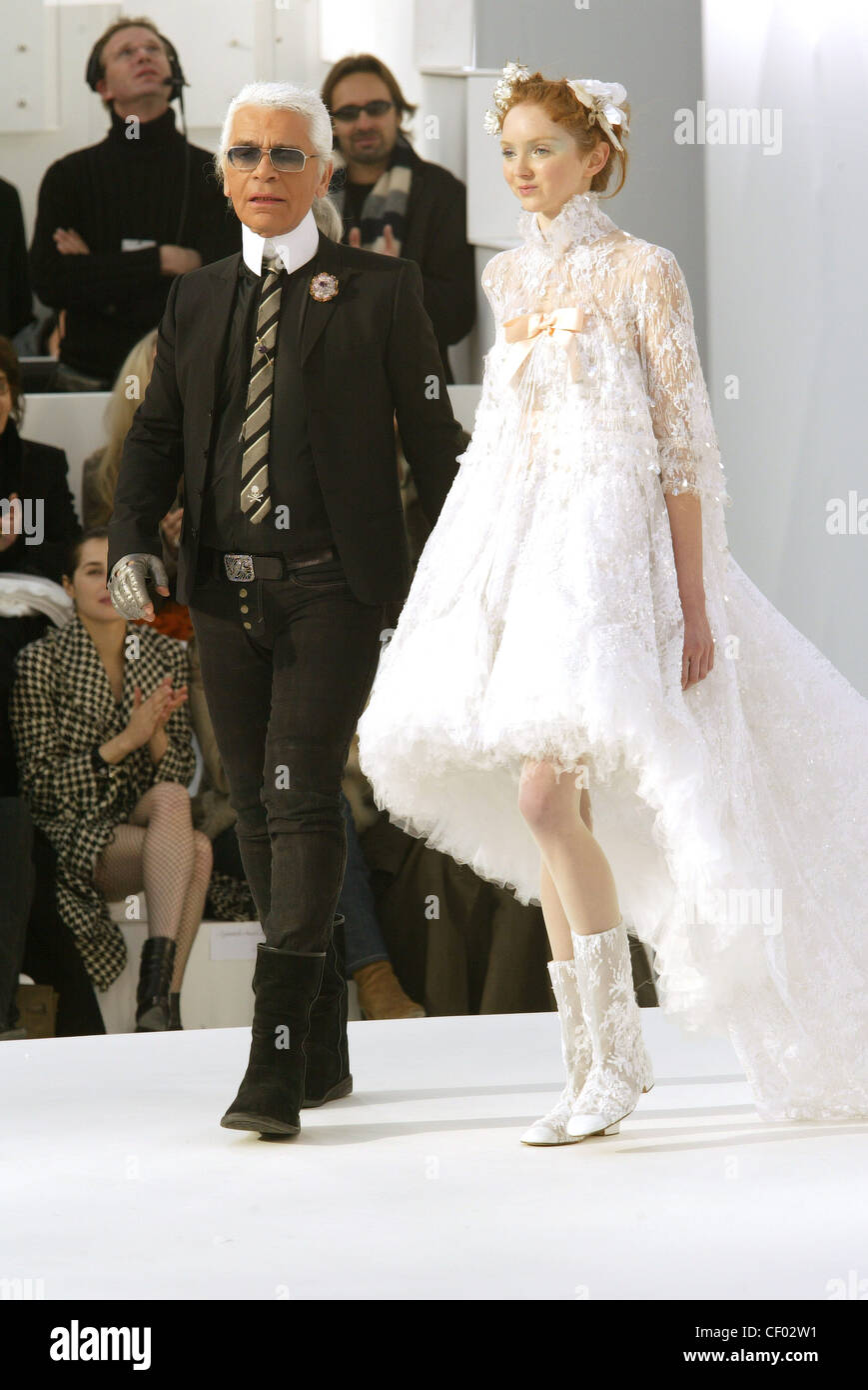 Haute Couture Chanel Spring Summer Paris British model Lily Cole ...
