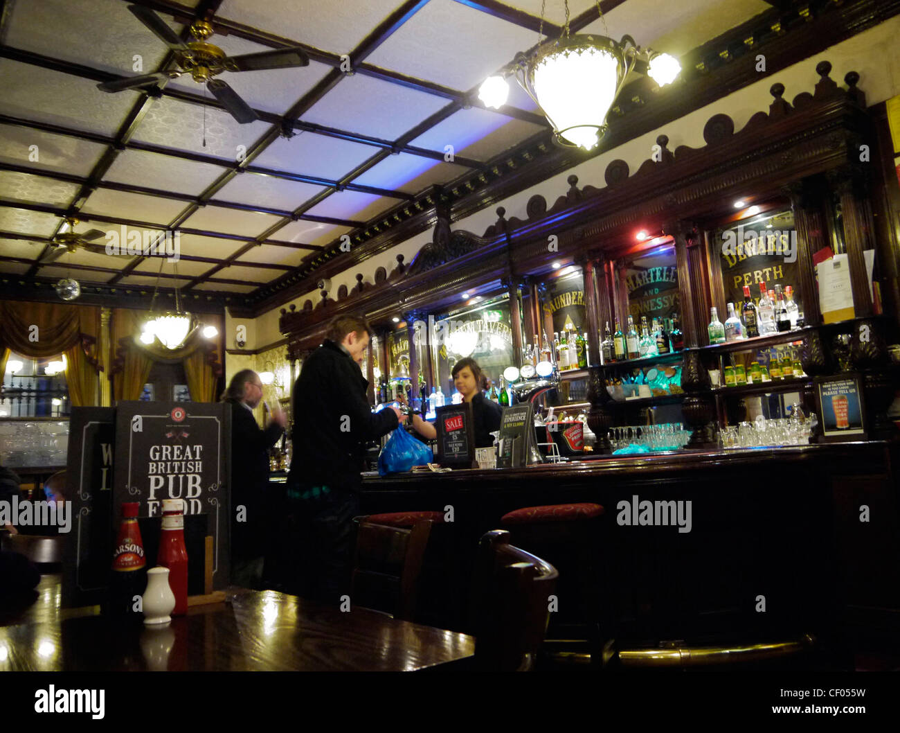 London Pub - Stock Image