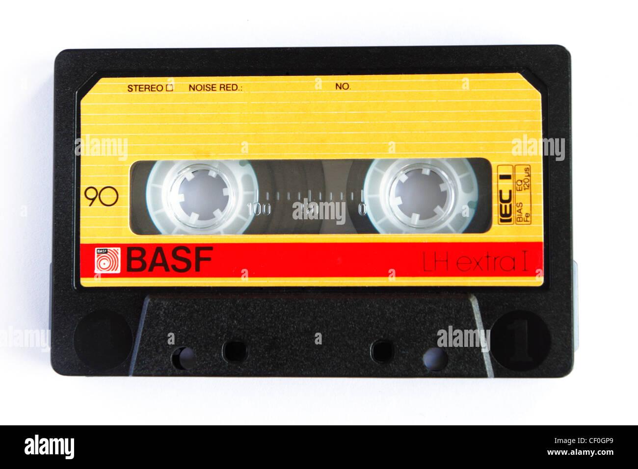 BASF audio cassette - Stock Image