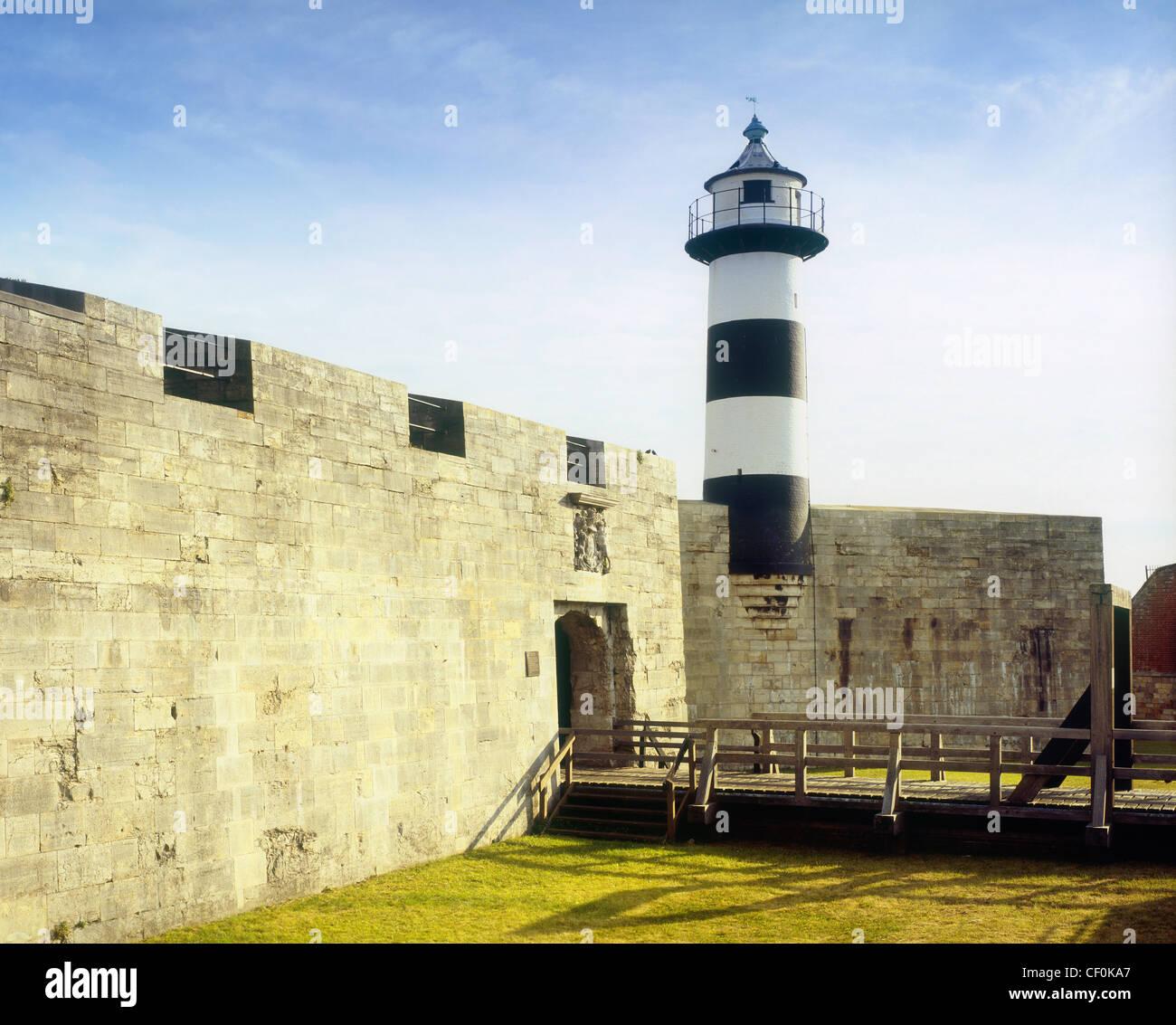 Southsea Castle - Stock Image