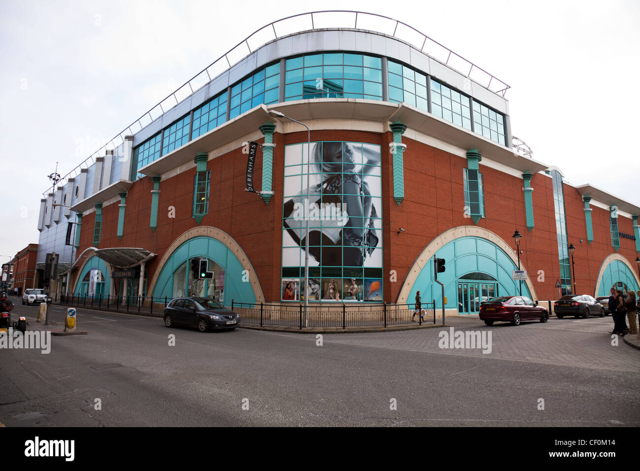 Lincoln city, Lincolnshire, England Debenhams, Department Store based in Lincoln - Stock Image