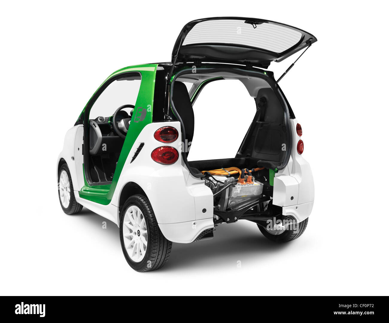 Electric Car Engine Cut Out Stock Images & Pictures - Alamy
