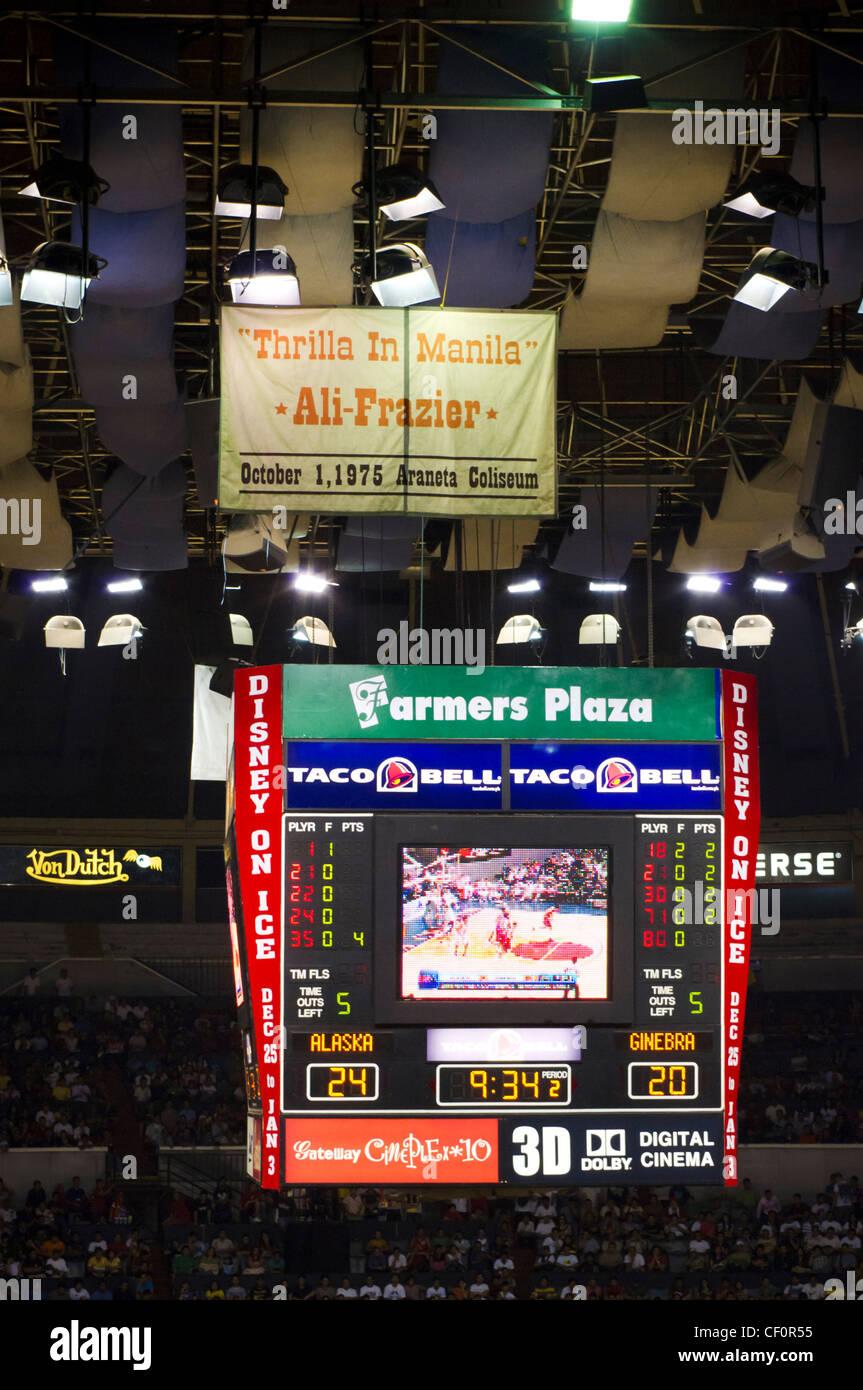 Araneta Coliseum in Quezon City, Metro Manila, Philippines - Stock Image