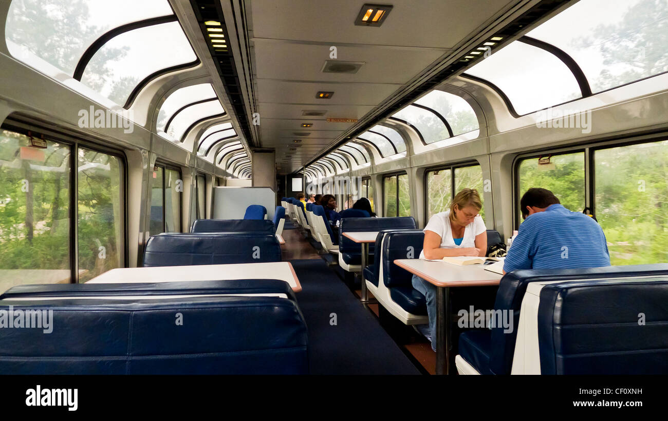 The City Of New Orleans Train That Amtrak Runs Between New