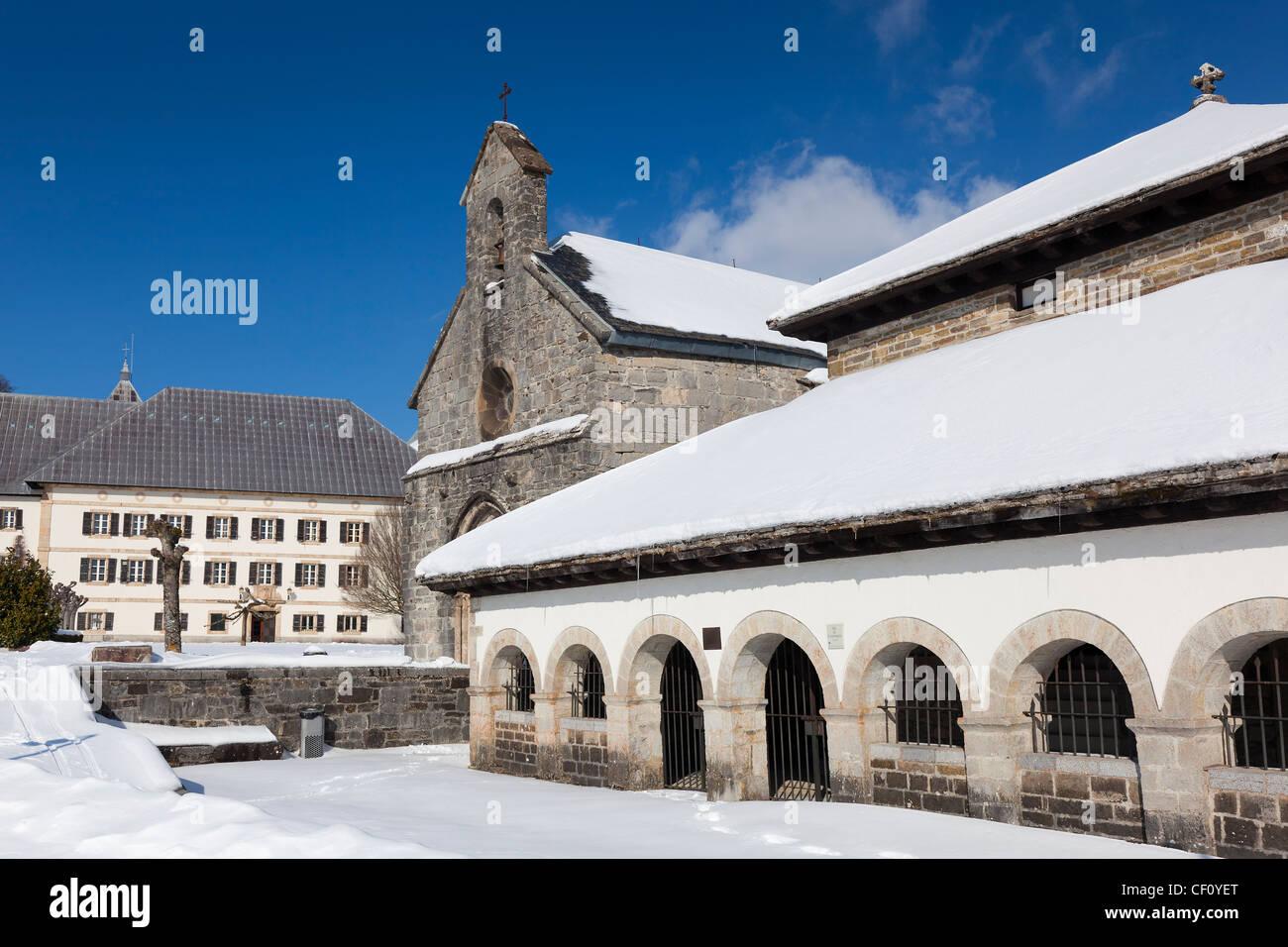 Orreaga/Roncesvalles, Navarra, Spain - Stock Image