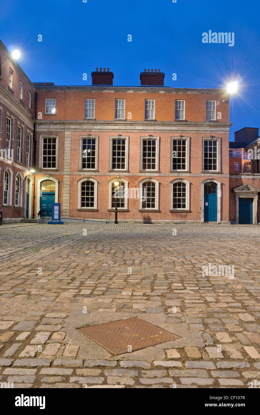 The state apartments of Dublin Castle - Stock Image