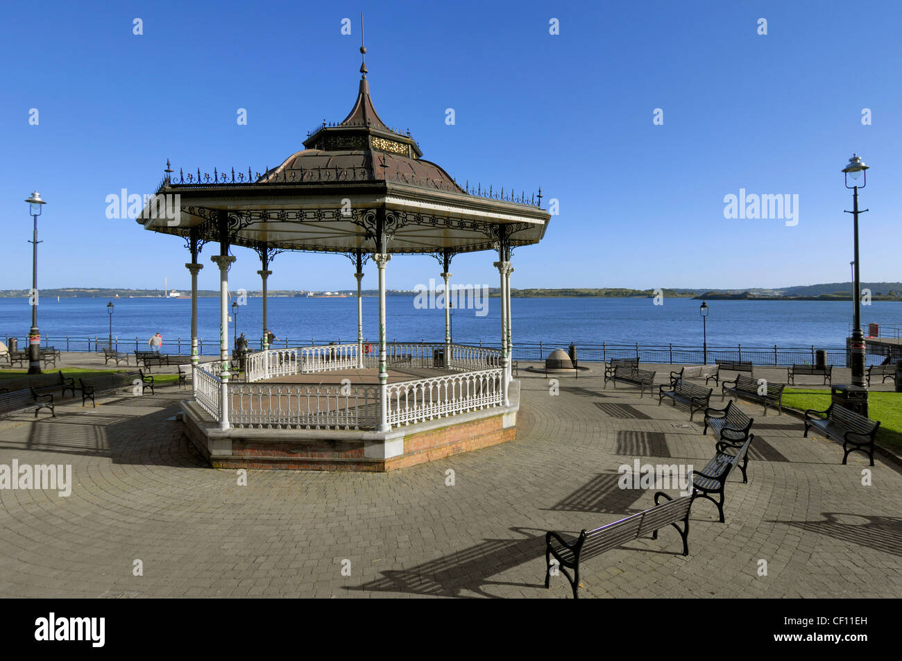 Cobh Bandstand - Stock Image